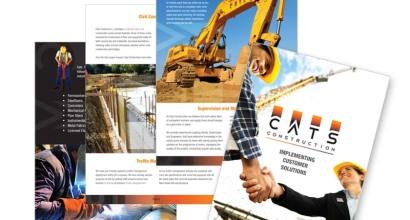 Cats Construction Brochure