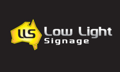 Low Light Signage