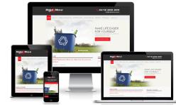 Courier Website Design