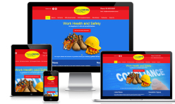 Workplace Safety Website Design