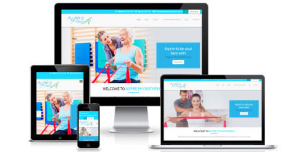Physiotherapy Website Design