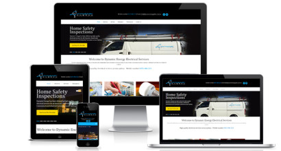 Electrician Website Design Sydney