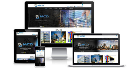 Engineering Consultant Website Design