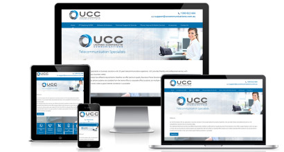 Communications Website Design Sydney