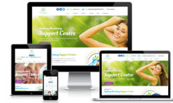 Mental Health Support Web Design