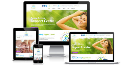 Mental Health Support Web Design