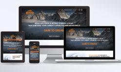 Motivational Speaker Website Design