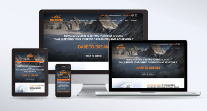 Motivational Speaker Website Design