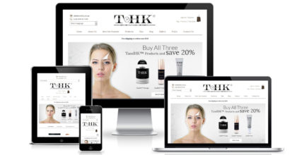 Cosmetic Ecommerce Website Design